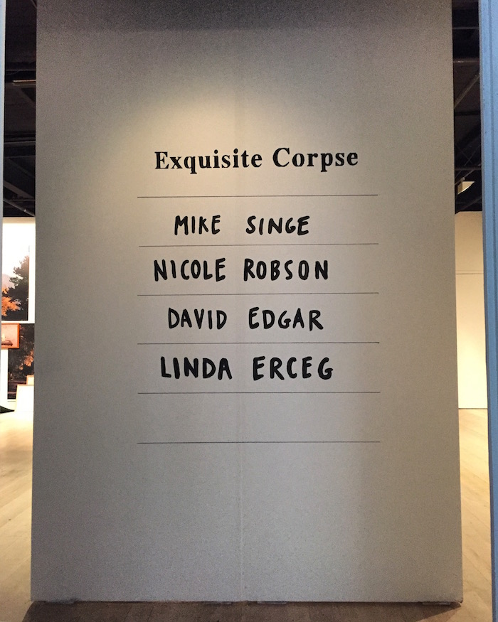 Exquisite Corpse at Contemporary Art Tasmania